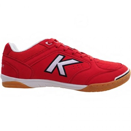 Zapatillas de interior Kelme Precision Indoor 55211 0130 rojo rojo