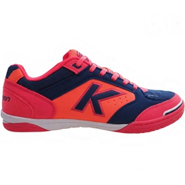 Zapatillas de interior Kelme Precision Indoor 55211 9816 azul marino, rosa multicolor
