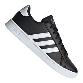 Zapatillas Adidas Grand Court Jr EF0102 negro