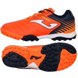 Botas de fútbol de joma Toledo 2008 Tf Jr TOJS.2008.TF naranja naranja