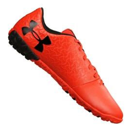 Zapatillas de fútbol Under Armour Magnetico Select Tf M 3000116-600 naranja rojo