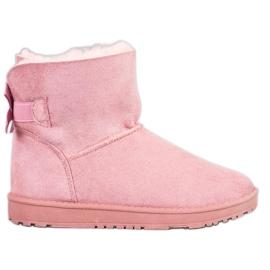 Haver Mukluki cómodo rosa