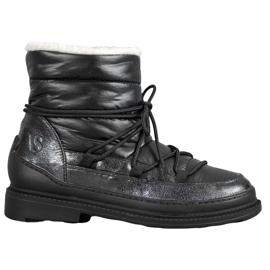 Vices Botas de nieve textil negro