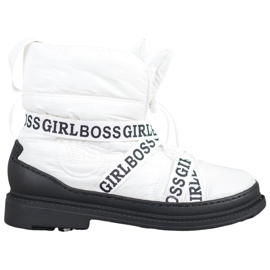 Vices Botas de nieve Girl Boss blanco
