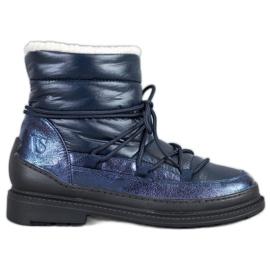 Botas de nieve de textil VICES azul