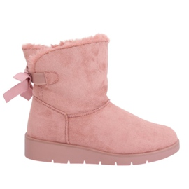 Botas de nieve para mujer rosa A-3 Pink