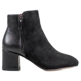 SHELOVET Botas elegantes negro
