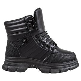 SHELOVET Zapatillas con aislamiento negro