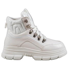 SHELOVET Zapatillas con aislamiento blanco
