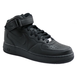 Nike Air Force 1 Mid 07 M 315123-001 zapatos negro