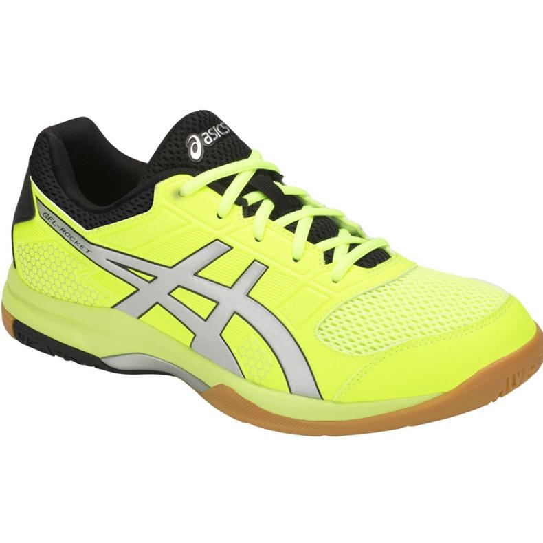 Zapatillas de voleibol Asics Gel-Rocket 8 M B706Y-750 amarillo multicolor