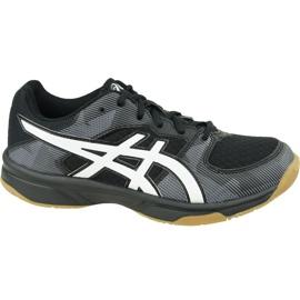 Zapatillas de voleibol Asics Gel-Tactic Gs Jr 1074A014-003 negro negro