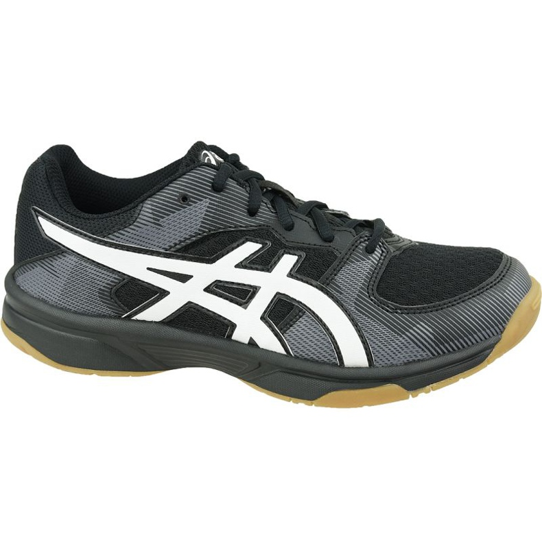 Zapatillas de voleibol Asics Gel-Tactic Gs Jr 1074A014-003 negro negro