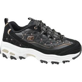 Zapatillas Skechers D'Lites W 13087-BKRG negro