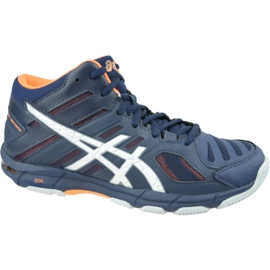 Zapatillas de voleibol Asics Gel-Beyond 5 Mt M B600N-402 marina azul marino
