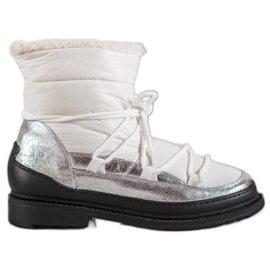 Botas de nieve de textil VICES blanco