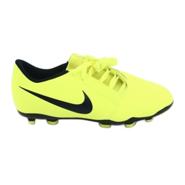 Zapatillas de fútbol Nike Phantom Venom Club Fg Jr AO0396-717 amarillo