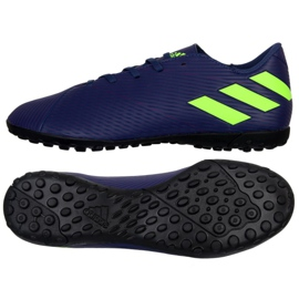 Adidas Nemeziz Messi 19.4 Tf M EF1805 calzado azul marino marina
