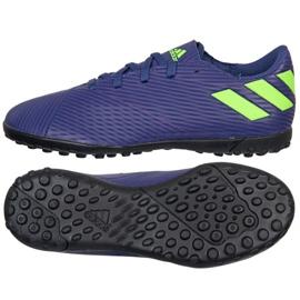 Adidas Nemeziz Messi 19.4 Tf Jr EF1818 calzado azul marino marina