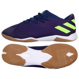 Zapatillas Adidas Nemeziz Messi 19.3 In M EF1812 azul marino marina