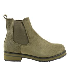 Botas con aislamiento verde Jodhpur boots F-3799