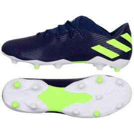 Adidas Nemeziz Messi 19.3 Fg M EF1806 calzado violeta marina