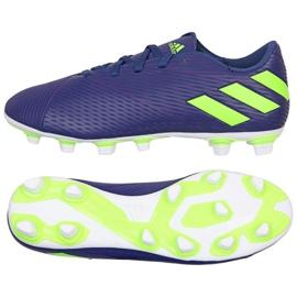 Zapatillas Adidas Nemeziz Messi 19.4 Fg M EF1807 púrpura violeta
