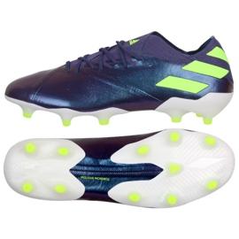Adidas Nemeziz Messi 19.1 Fg M EG7332 calzado violeta púrpura