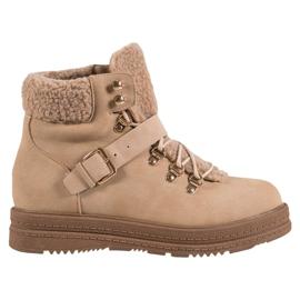 Elegantes botas VICES marrón