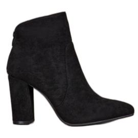 Ideal Shoes Botines Clásicos negro