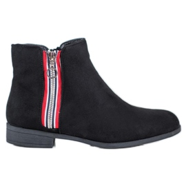 SHELOVET Botines calientes negro