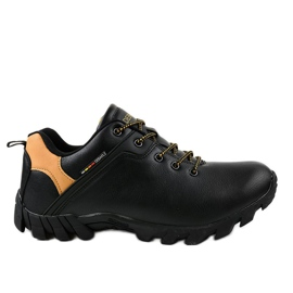 Zapatillas de trekking negras 2019A negro