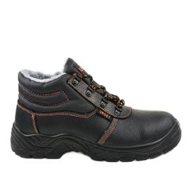 Zapatos de seguridad para hombre negro XH009D