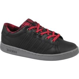 Zapatillas K-Swiss Hoke Plaid Jr 85111-050 negro