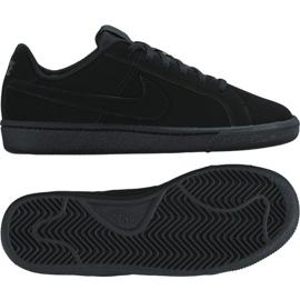 Zapatillas Nike Court Royale Gs Jr 833535-001 negro