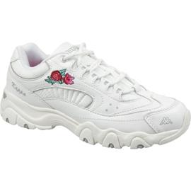 Zapatos Kappa Felicity Romance W 242678-1010 blanco