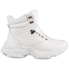 Ideal Shoes Zapatillas Eco Leather blanco