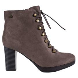 Goodin Botas de gamuza caliente marrón