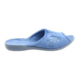 Zapatos de mujer befado pu 256D003. azul