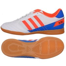 Puma Zapatillas de fútbol Adidas Super Sala J In Jr FV2633 blanco, azul, naranja