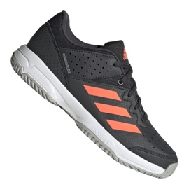 Zapatillas Adidas Court Stabil Jr EH2557 negro multicolor