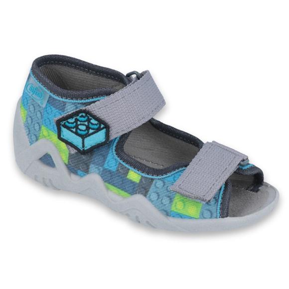 Befado zapatos infantiles amarillos 250P093
