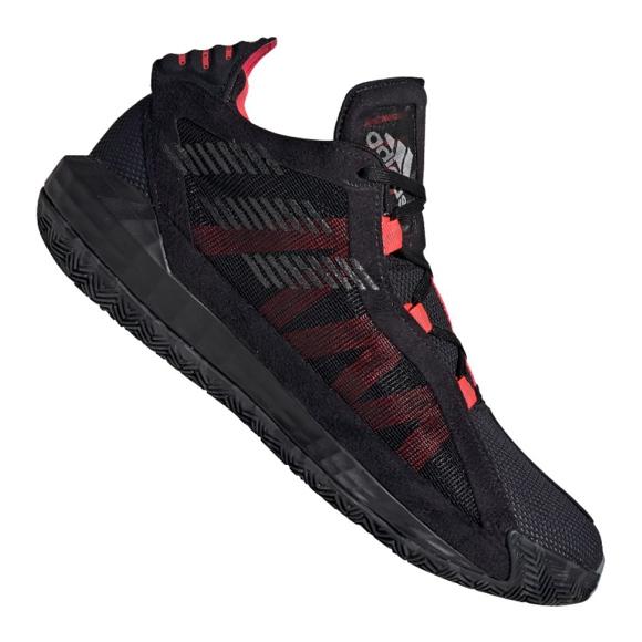 Zapatillas Adidas Dame 6 M EF9866 negro rojo negro