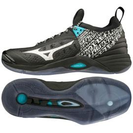 Zapatillas de voleibol Mizuno Wave Momentum M V1GA191199 negro negro