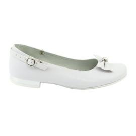 Bailarinas Miko 806 blancas blanco gris