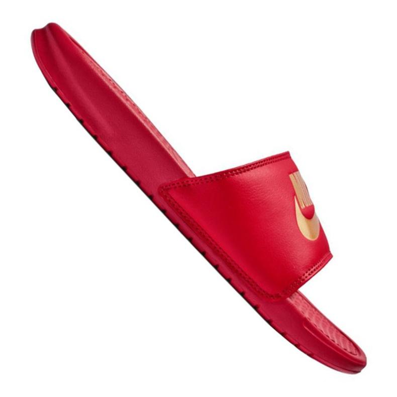 Zapatillas Nike Benassi Jdi Slide M 343880-602 rojo