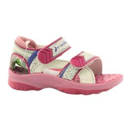 Sandalias rosa para niños zapatos de agua Rider 80608. ['sombras de rosa', 'sombras de gris y plata', 'biel']
