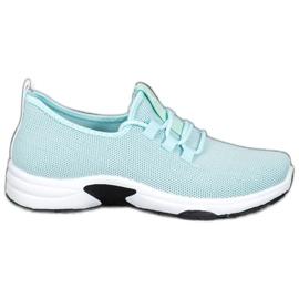 Kylie Calzado deportivo clásico azul