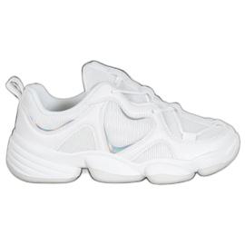 Kylie Zapatillas blancas con estilo blanco