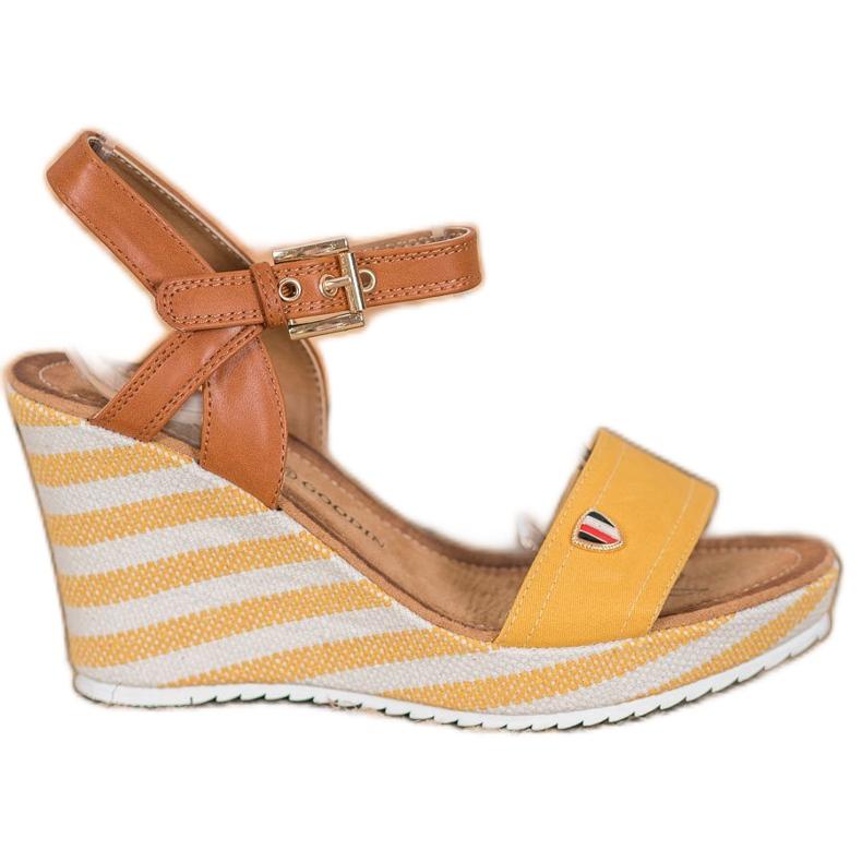 Goodin Sandalias de cuña de moda